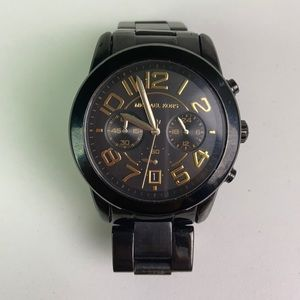Michael Kors l Vintage Black Boyfriend Watch